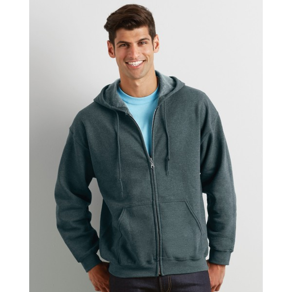 Gildan Heavy Zip Men's Hoodies for Promotional Clothing