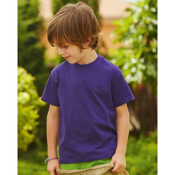 Fruit of the Loom Valueweight Kids T-shirts for Transfer Printing