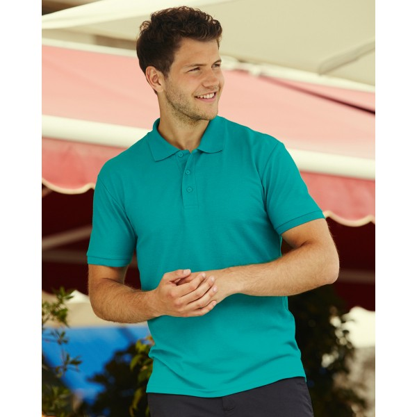 Fruit of the Loom Personalised Polo Shirts