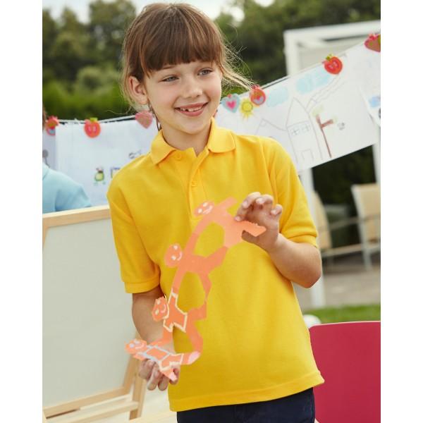 Fruit of the Loom Kids Polo Shirts