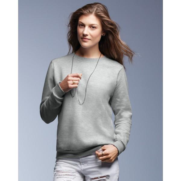 Anvil Women's Crewneck Sweatshirts for Bulk Printing