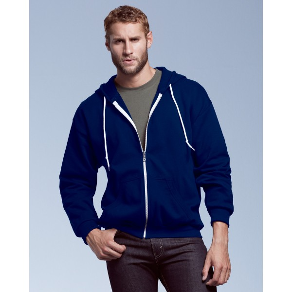 Anvil Men's Zip Personalised Hoodies