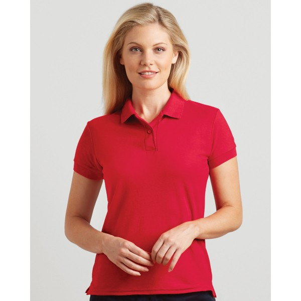 Gildan Dryblend Ladies Double Pique Polo Shirt for Screen Printing