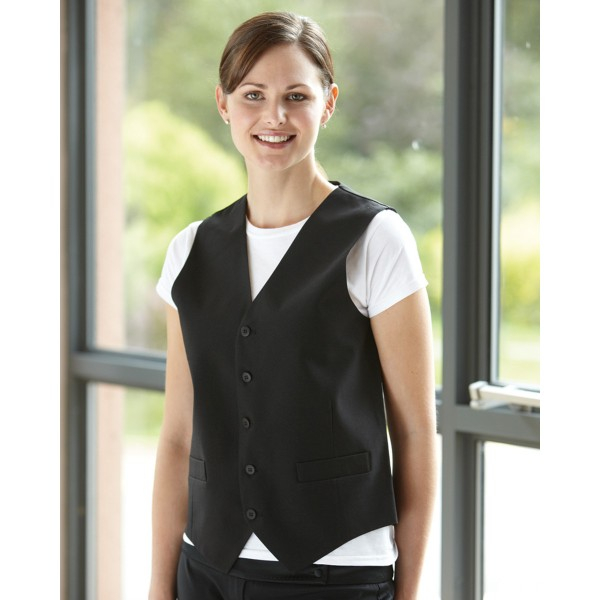 Dennys Unisex Personalised Waistcoat for Custom Workwear