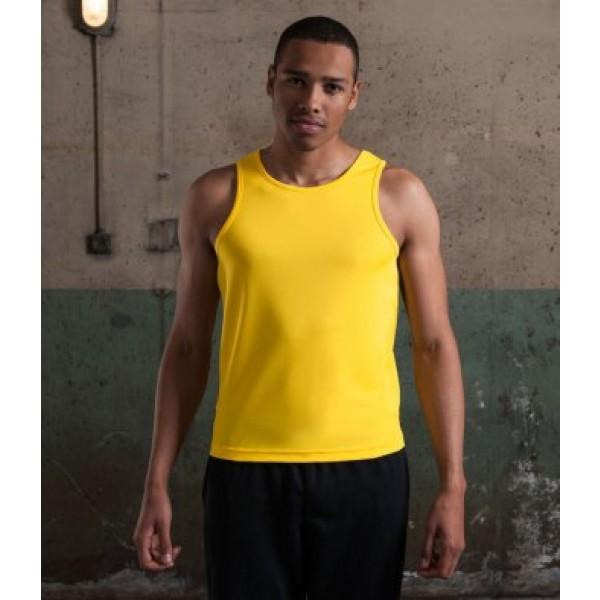 AWDis Men's Personalised Running Vests
