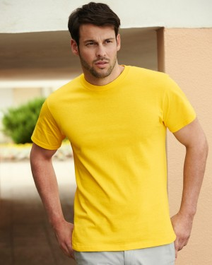 Fruit of the Loom Men's Heavy Cotton T-shirts for Custom Printing