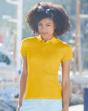 Fruit Of The Loom Lady Fitted Premium Polo for Embroidery