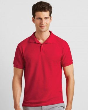 Gildan Dryblend Mens Double Pique Personalised Polo Shirts