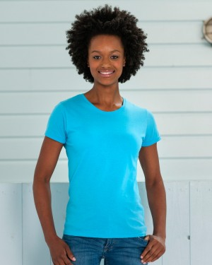Russell Ladies Slim T-shirts for Custom Clothing