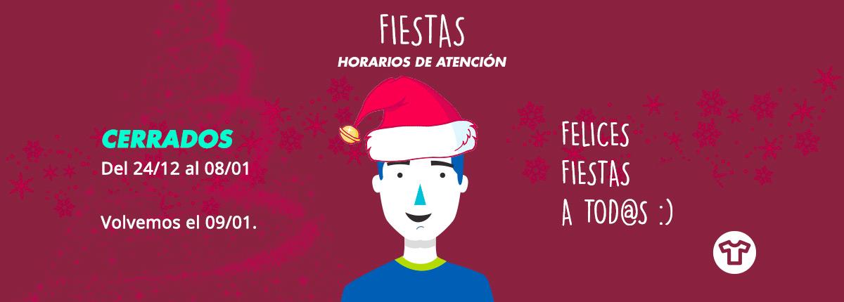 Horarios de atencion en fiestas 2018/2019